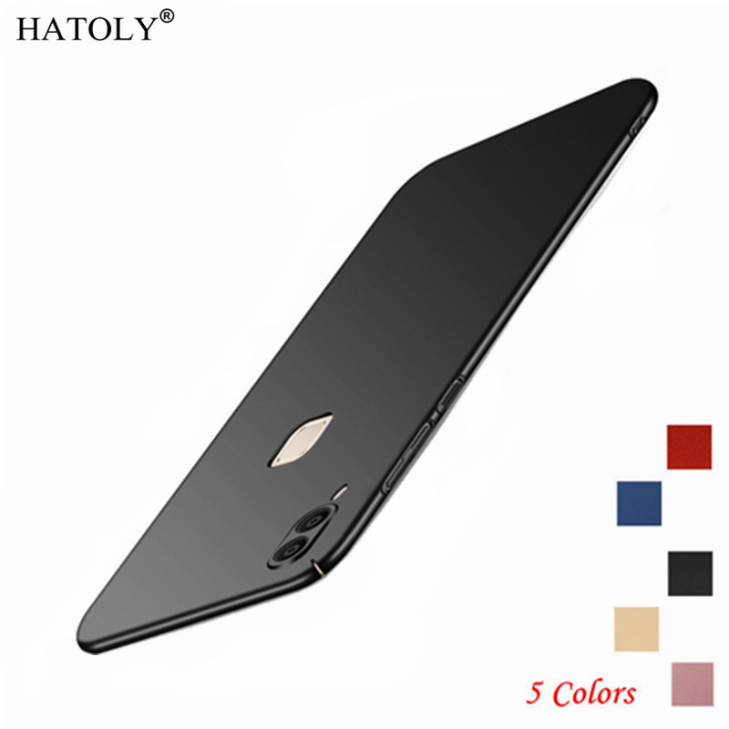 Case VIVO V9 Back Cover Vivo V9 Youth Ultra-thin PC Case For VIVO V9 For BBK VIVO V9 / Y85 Slim Smooth Bumper Capas Coque HATOLY