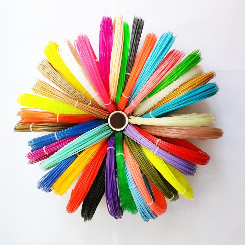 @china 10 Meters/roll *(10/26PCS)3d pen wire 1.75mm ABS/PLA 3D Filament For 3D Printer 3D drawing pen 3D Printing Supplies 3d 3d 3d