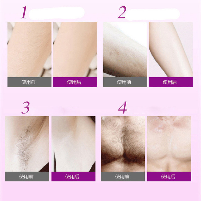 Super Natural painless hair removal cream Remove Permanent Hair Depilatory Cream Smooth Skin Fit Boby paste hair removal