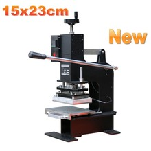 Large Size Hot Foil Stamping Machine Manual Max Size 15x23cm Foil Printer Leather Embossing Machine цены
