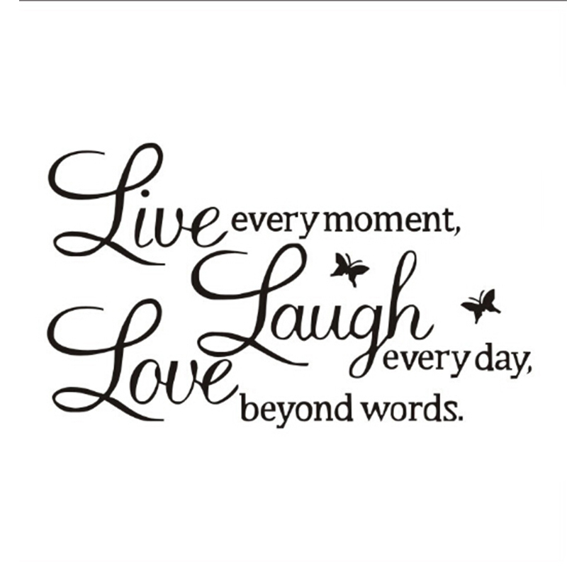 Live Love Laugh Quotes Glamorous Sales Promotion Proverbs Live Love Laugh Letters Transparent