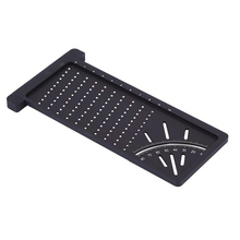 Multi-functional Woodworking Scribe Mark Line Gauge T-type Ruler Hole Crossed-out Carpenter Measuring Tool