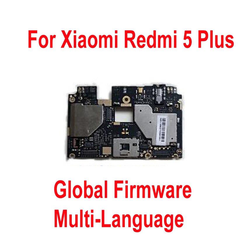 Test Original du micrologiciel mondial déverrouillage de la carte mère pour Xiaomi Hongmi 5 Plus Redmi 5 Plus frais de Circuit de la carte mère câble flexible