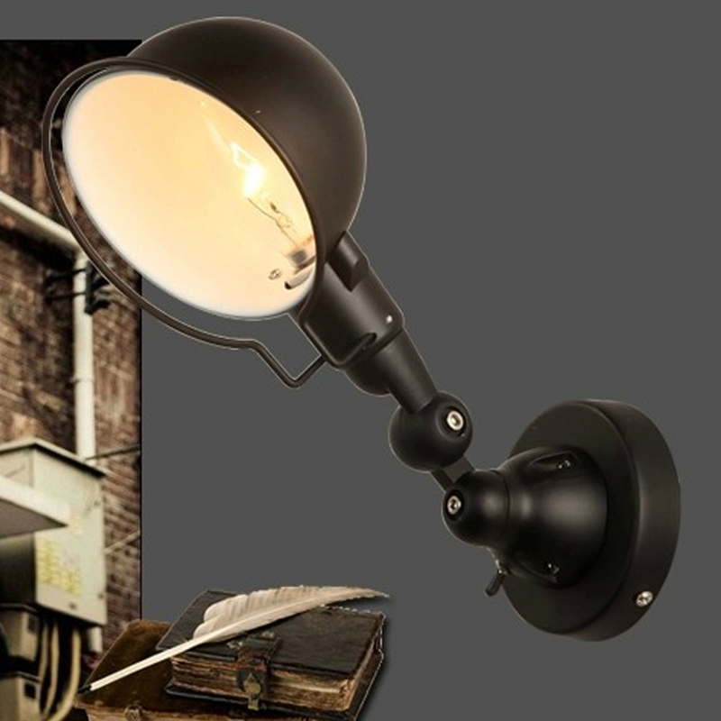Us 68 0 15 Off Rotarory Wall Sconces Traditional Wall Lights Bedroom Led Wall Lamps Led Mirror Lights Antique Black Wall Sconce Living Room In Wall