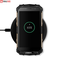 Raugee 10W Fast Wireless Charge Doogee S60 Qi Wireless Charging Pad For IPhone 8 X Samsung