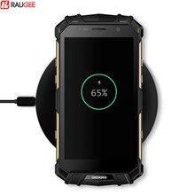 Raugee 10 Вт быстро Беспроводной зарядки Doogee S60 QI Беспроводной зарядного устройства для iphone 8/x Samsung Galaxy S8 примечание 8 Edge Plus Зарядное устройство