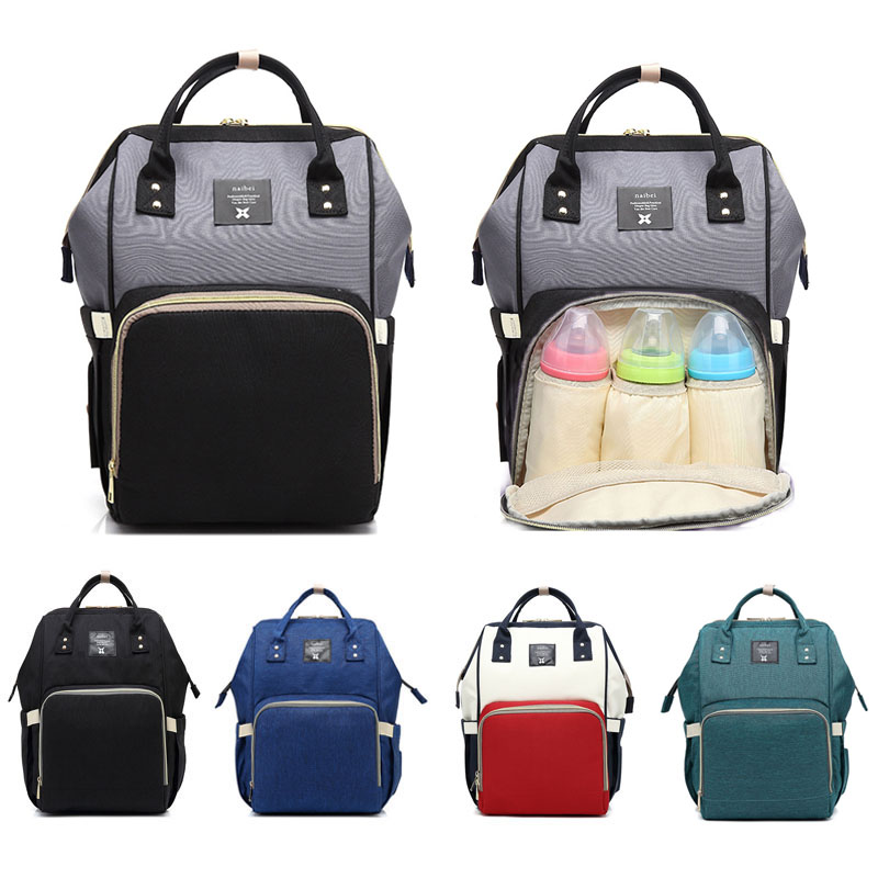 7eb8ec6425f1 Waterproof Baby Bag Travel Backpack Women Maternity Nursing Bag for Baby  Large Capacity Mom Backpack Women Carry Care Bags