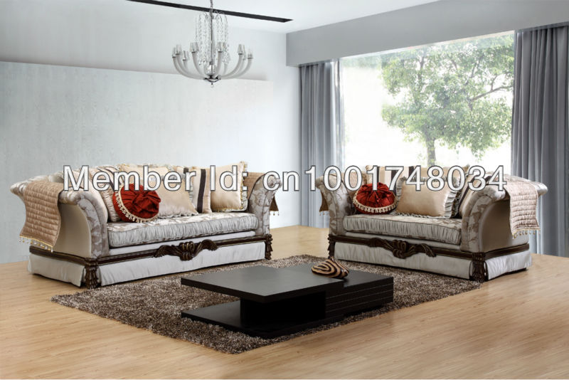 2014 Time Limited Real Set New Design Luxor Sofa Classic / Middle East  Style Living Room Furniture/ 3+2+1 K2025 Pu+fabric Sofa, In Living Room  Sofas From ...