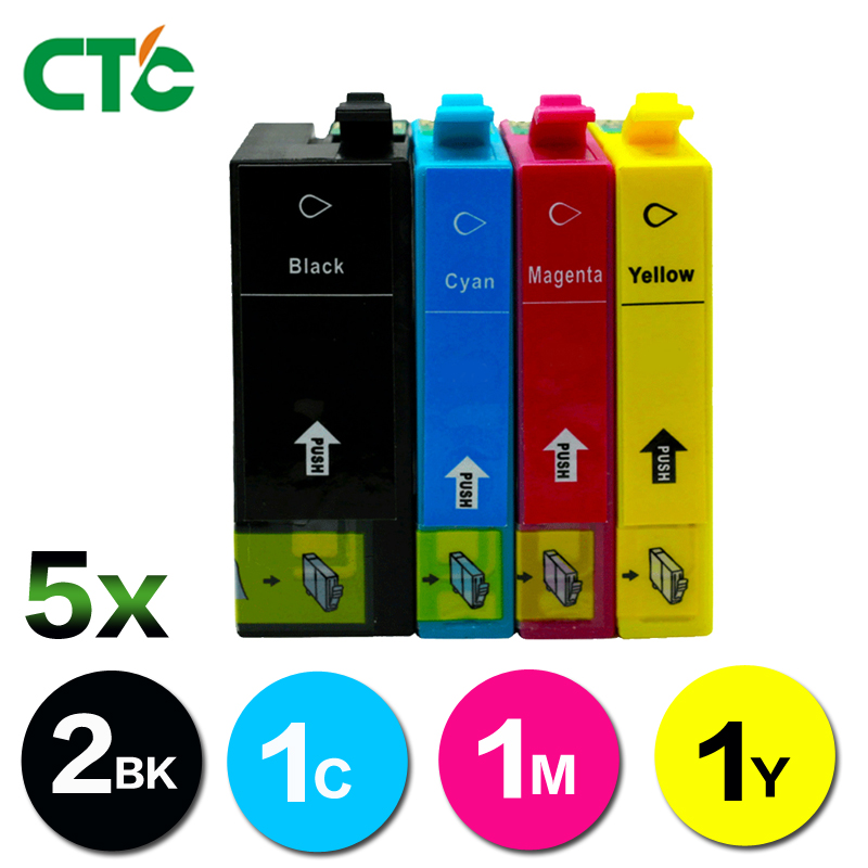 5X T3591 ink Cartridge compatible for Epson WF4720DWF Inkjet WF4725DWF WF4730DTWF WF-4730DWF WF 4740DTWF WF-4740DWF with chip compatible ink cartridges suit for t1271 t1272 t1273 t1274 suit for epson nx530 nx625 wf 60 545 630 633 wf 3520 wf 3540 etc