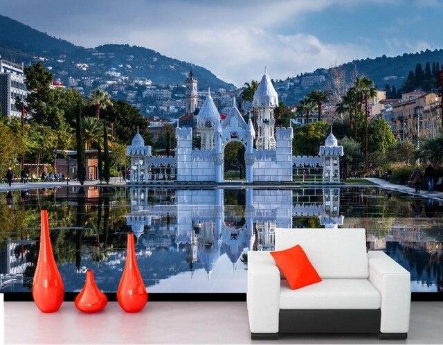 Tapeten Frankreich benutzerdefinierte wandbild tapete papel de parede frankreich