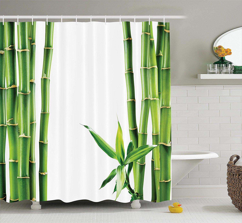 marvellous bamboo bathroom accessories | Aliexpress.com : Buy Asian Shower Curtain Decor Bamboo ...