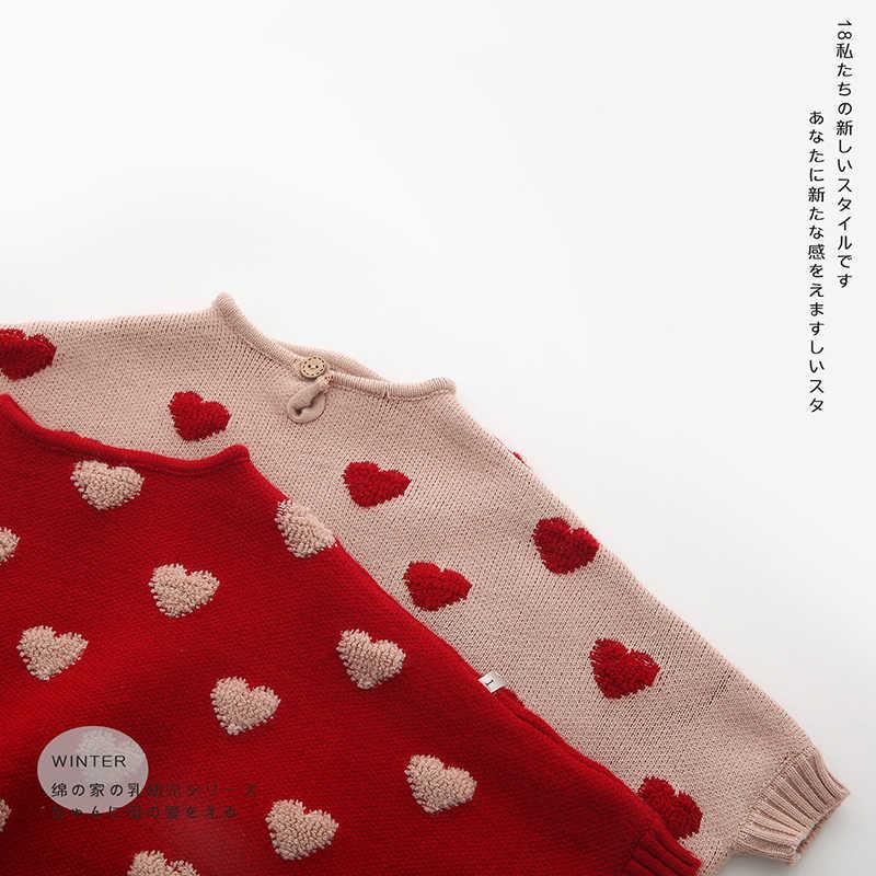 2019 Lente Meisjes Mantel Trui Mode kinderkleding Gebreide Trui Vleermuis Mouw Trui meisje Kleding Gebreide Babykleertjes