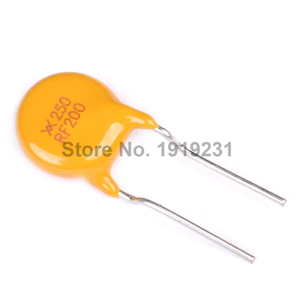 50//100PCS 16V 3A PTC Resettable Fuses RGEF300 Self-Recovery Fuses