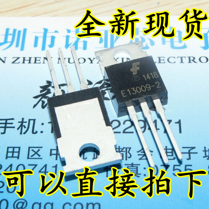 10PCS E13009-2 TO220 13009 E13009 High Voltage Fast-Switching NPN Transistor new original 50pcs bd244c bd244 to220