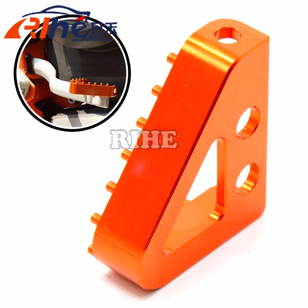 2016 new style Motorcycle billet aluminum Rear Brake Pedal Step Tip with KTM logo for ktm 690 SMC 690 ENDURO 690 DUKE 2008-2009 щипцы braun st 550 mn чёрный
