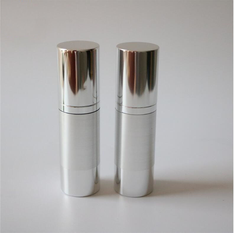 30ml Silver Airless Vacuum Pump Bottle For Lotion Emulsion