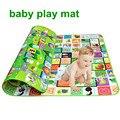 2016 Novo Estilo de jogar Mat Tapete de Piquenique Das Crianças para o bebê Crianças Jogo Tapete EVA para o bebê 2.0*1.8 m