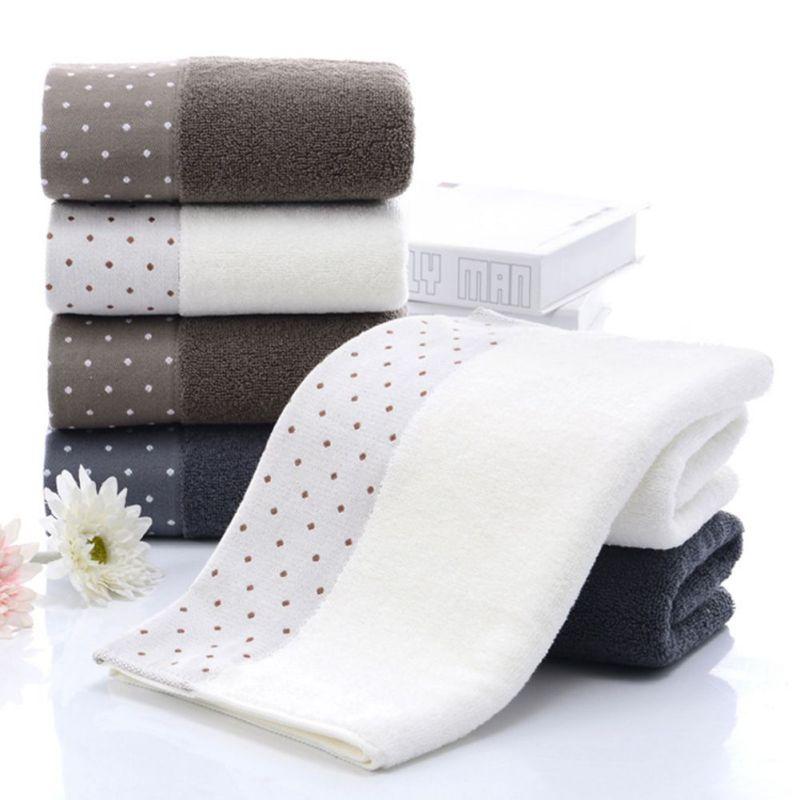 100% algodón absorbente patrón de punto Color sólido suave cómodo ...
