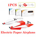 New arrival Power up electric paper airplane conversion kit fashion  Paper Plane  educational kids toys 1pcs