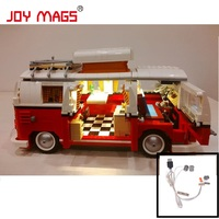 JOY MAGS Only LED Light Kit For Creator The Volkswagen T1 Camper Van Compatible With Lego