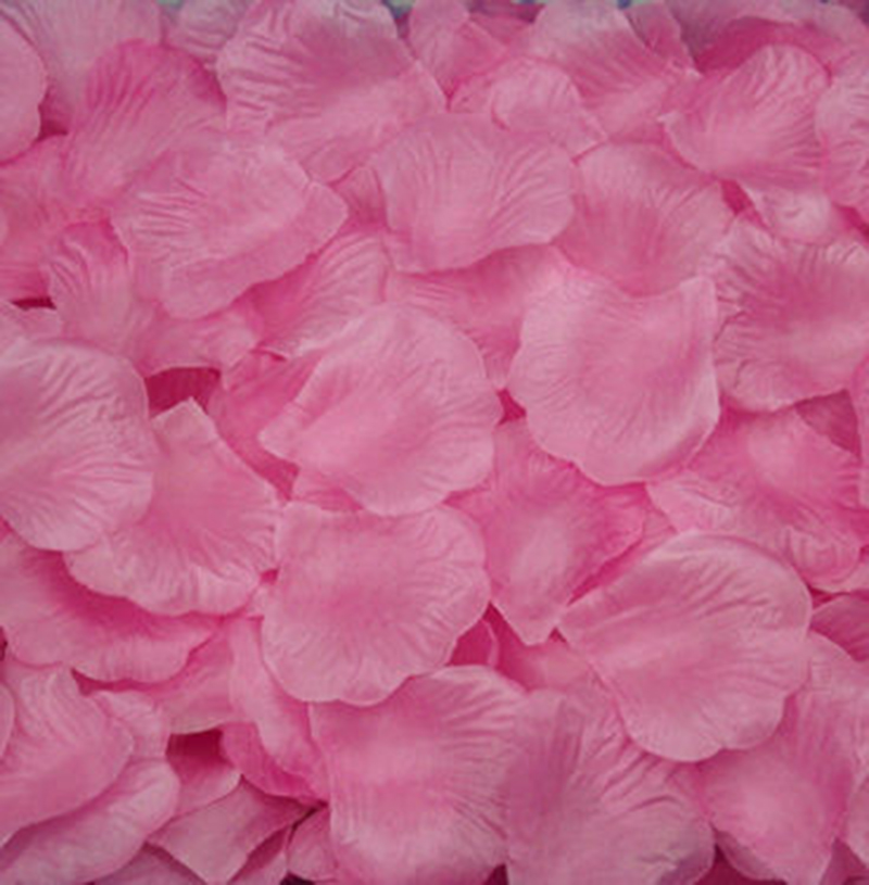 Us 1 65 25 Off 1000pcs Silk Rose Flower Petals For Wedding Party Table Confetti Decorations Red Purple Pink Yellow In Artificial Dried Flowers