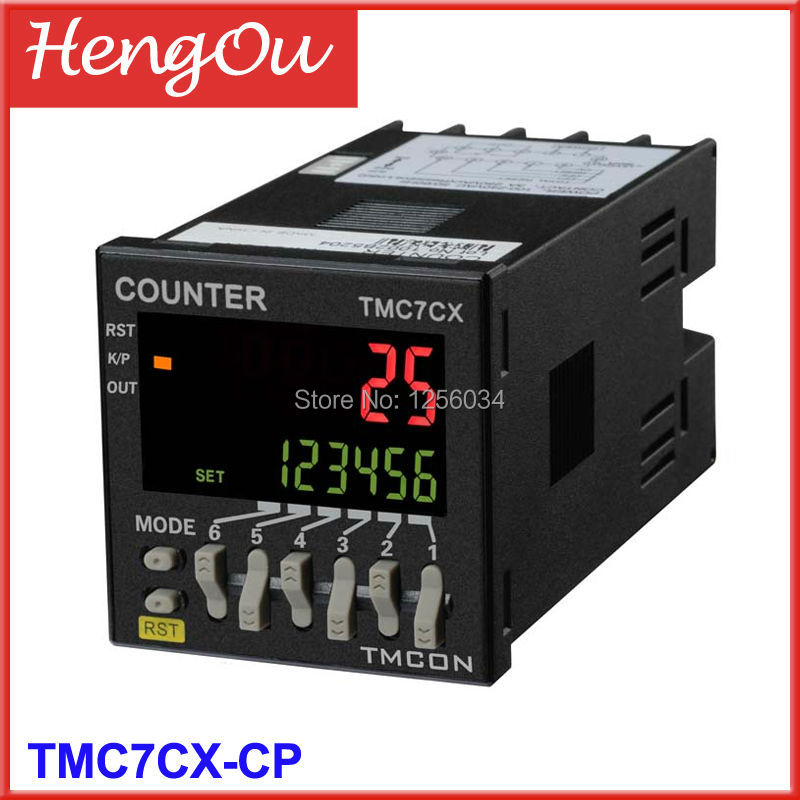 1 piece TMC7CX intelligent digital counter, TMC7CX-CP Electronic counter