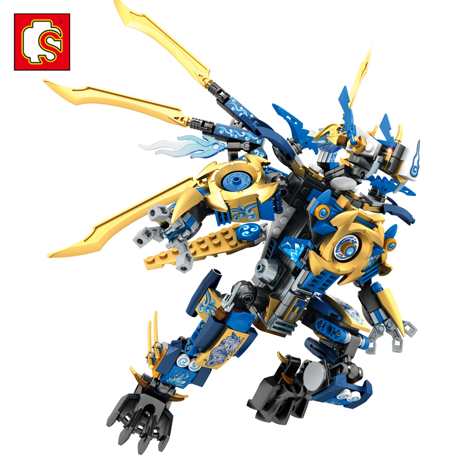 Sembo Blocks Dragon Knight Building Block Toys Compatible legos Ninjagoe Wars Action figures Brinquedos Brick Toy For Kids Gift meng badi 1pcs lot transformation toys mini robots car action figures toys brinquedos kids toys gift