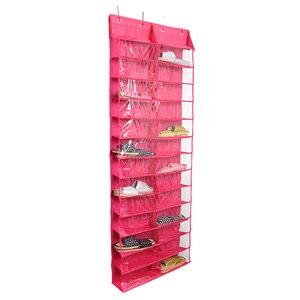 1 шт. настенный органайзер для обуви через дверь, держатель для хранения обуви, сортировщик для 26 пар обуви, умное решение для хранения, подве...