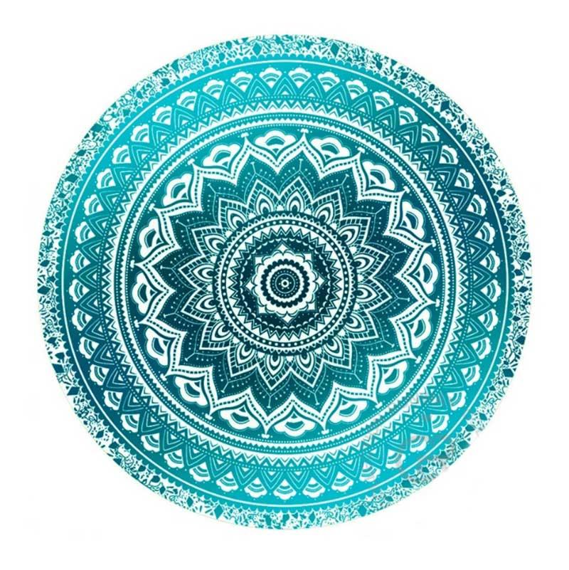 Mandala Round Tapestry Summer Beach Picnic Throw Rug Blanket Bohemia Mats LBShipping