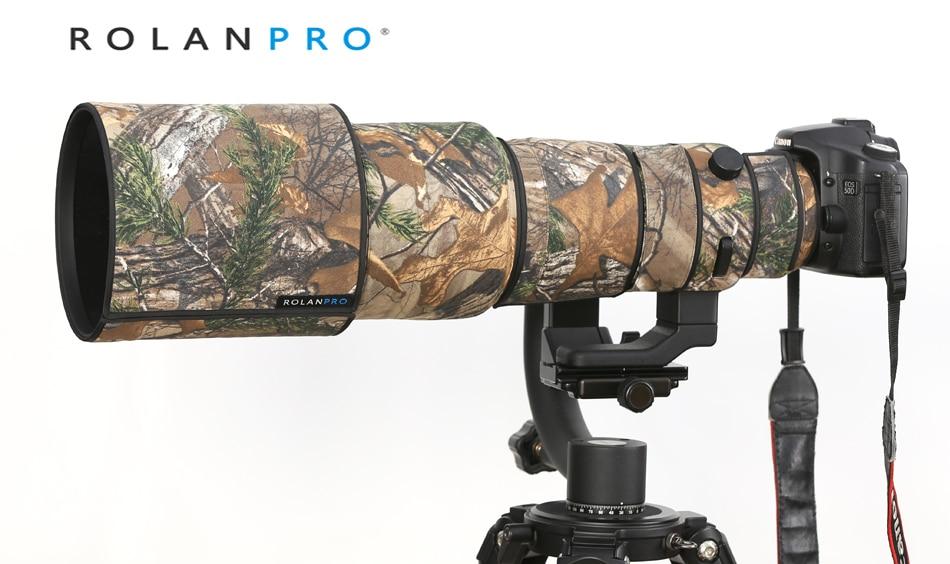 Спортивный защитный чехол ROLANPRO SIGMA 500 мм F/4 DG OS HSM, Защитная крышка для объектива камеры, камуфляжная одежда для объектива