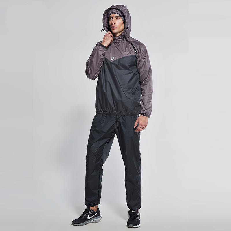 Vansydical Men Sweat suit 2017 New Winter Cycling Running GYM Training Clothes Windproof Hooded Jacket Coat Sports Pants S-XXXL authentic nike men s coat spring new windproof jacket windrunner training