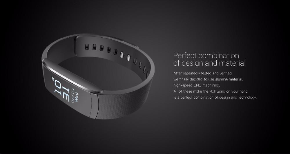 Original iWown i6Pro Smart Band PMOLED Display Heart Rate Monitor Smart WristBand Bracelet Waterproof Android Fitness Tracker 5