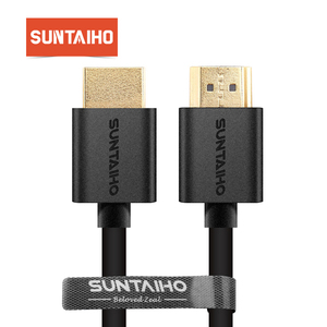 Suntaiho 9FT 1M,2M,3M,5M,10M High speed Gold Plated Plug Male-Male HDMI Cable 1.4 Version w Nylon net 1080p 3D for HDTV XBOX PS3