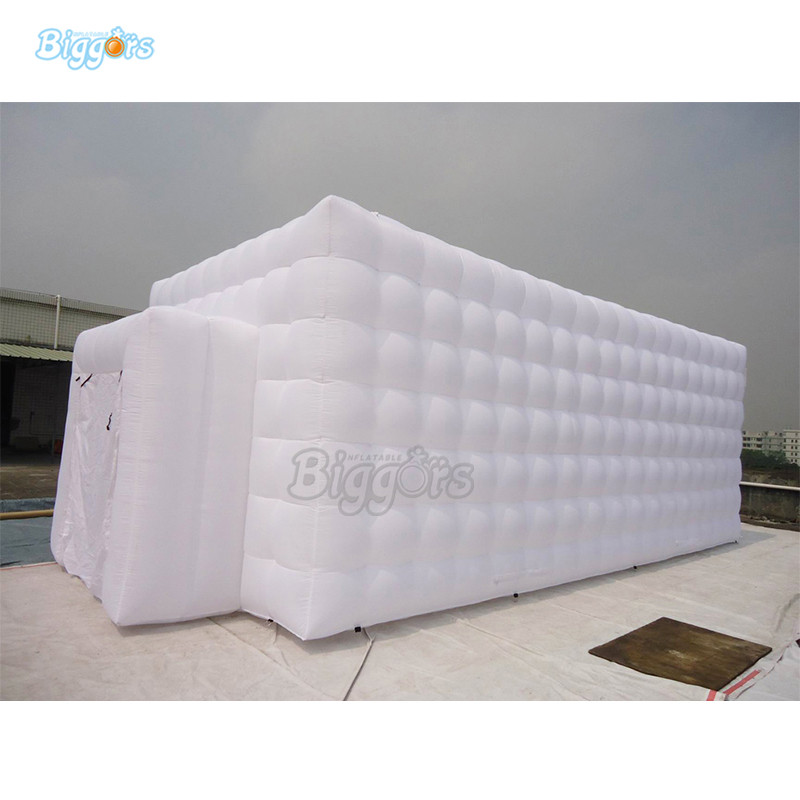 Inflatable White Tent Camping Tent Cubic Inflatable Tent Air Inflated Structure With Blowers все цены