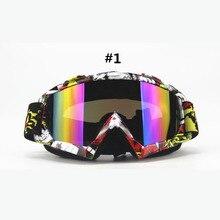 Взрослый Мотокросс Очки Moto Байк ATV Мотоцикл Очки Защитные Очки Лыжные Очки Gafas УФ-Защита Лыжные