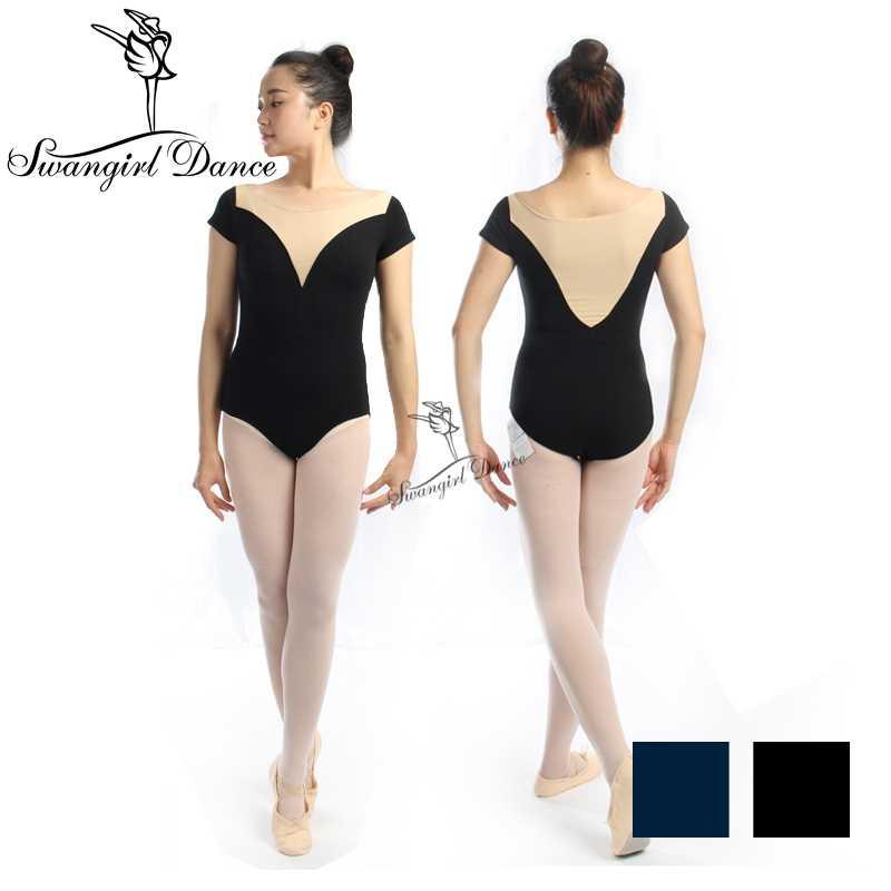 0de92d0a0c32 Detail Feedback Questions about adult short sleeve ballet dance ...