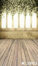 5ftx7ft Retro Wood Flooring Stand On Castle Background Wedding Marry Photo Studio Photography Backdrop Window Photographic Props