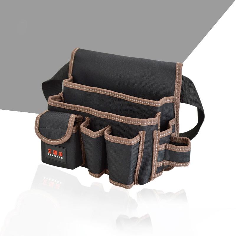 AIRAJ Hardware Bolsa de almacenamiento de herramientas de cintura con - Almacenamiento de herramientas - foto 3
