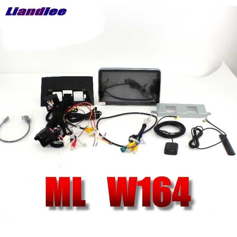 Liandlee 車マルチメディアプレーヤーナビメルセデスベンツ Mb ミリリットル M クラス W164 2005 〜 2011 Comand NTG 車ラジオステレオ GPS ナビゲーション