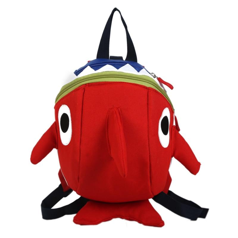 Baby Shark Backpack Plush Doll Cartoon Animal Bag Children Kids School Gift