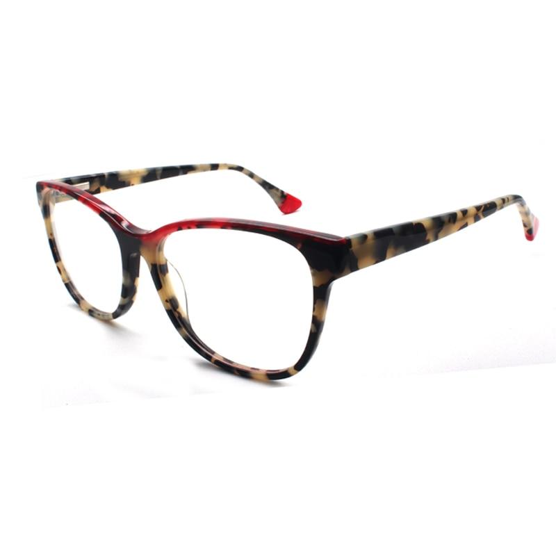 Reven Jate 8043 Acetat Brille Rahmen Optische Brillen Brillen Für Männer Und Frauen Brillen Eleganter Auftritt Bekleidung Zubehör Herren-brillen