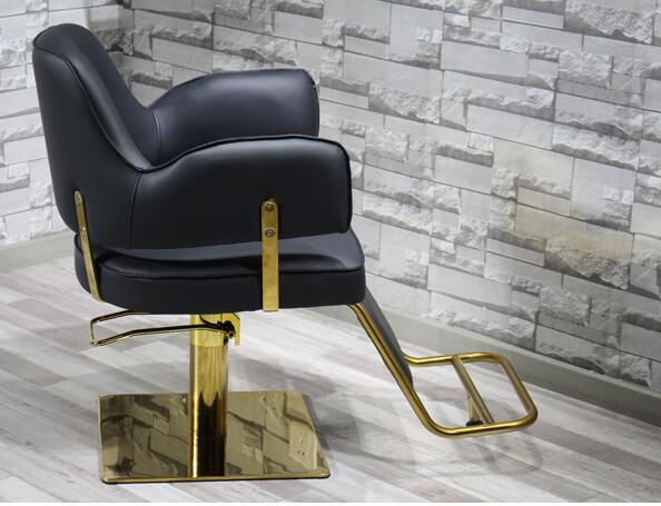 Купить с кэшбэком Web celebrity chair high-end fashion hairdressing chair barbershop chair lift fashionable hot dyeing styling chair barber chair