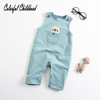 6m 12m 18 24m Baby Clothes Spring Autumn New Girl and Boy Bib Pants Coverall Trousers Cartoon Bears Infant Toddler Clothes
