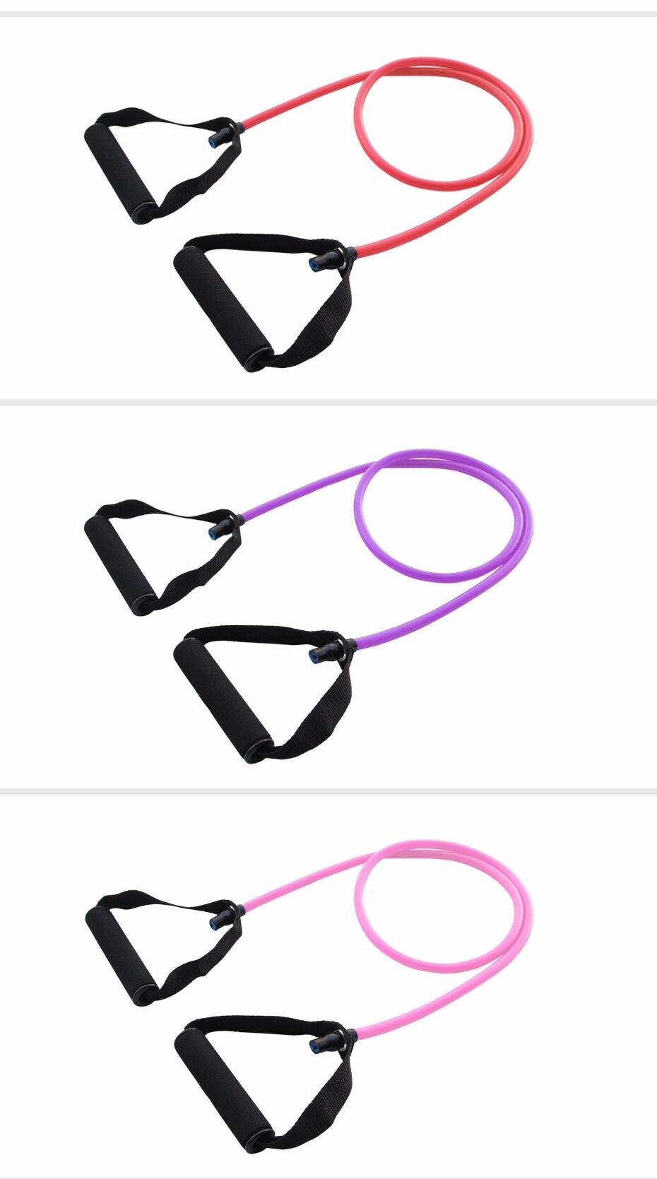 120cm Elastic Resistance Bands Yoga  (24)
