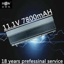 HSW 7800 мАч ноутбука Батарея для Dell Latitude E6400 E6410 E6500 E6510 точность M2400 M4400 M4500 M6400 M6500 1M215 312-0215