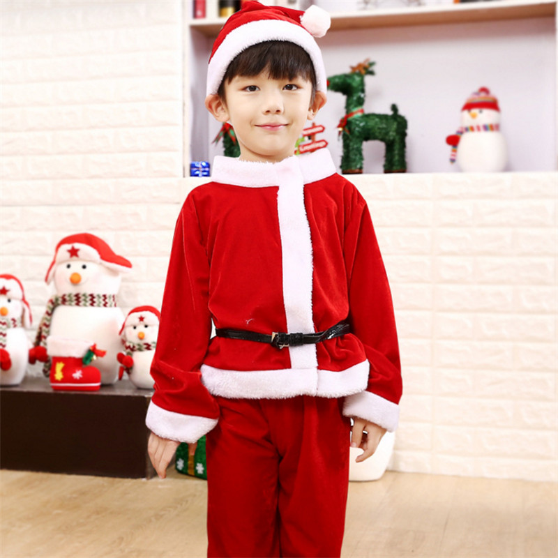 2018 new high quality Childrenu0027s costumes Boy girl Santa Claus Clothes new Year show Xmas Party Kids Cosplay clothing Christmas-in Boys Costumes from ...  sc 1 st  AliExpress.com : santa claus child costume  - Germanpascual.Com