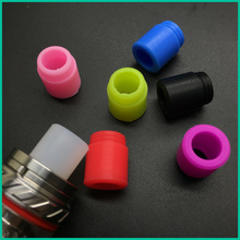 1000pcs/lot 810 drip tips Mouthpiece Cover Individually Silicon Test Drip Tips Disposable Rubber for Kennedy25 810 RDA