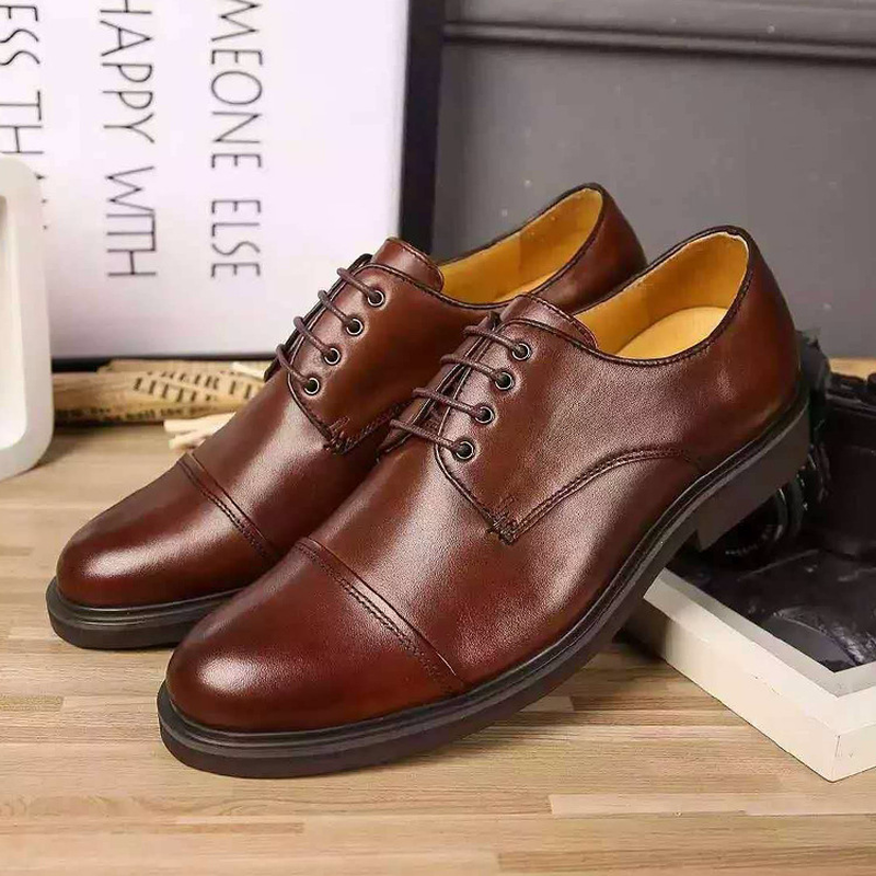 Genuine Leather  casual shoes men 2019 luxury brand Breathable mens designer