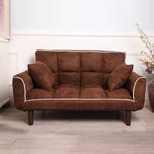 Modern Armchair Sofa Bed 5 Angle Adjustable Reclining Back and Arm Living Room Furniture Home Small Double Sofa Chair Recliner
