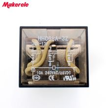 цена на HHC68A-3Z LY2 DC24V AC220V Coil 8 Pins Power Electromagnetic Relay